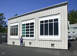 The Advanced Windows Test Facility measures the performance of windows, shutters, and blinds
