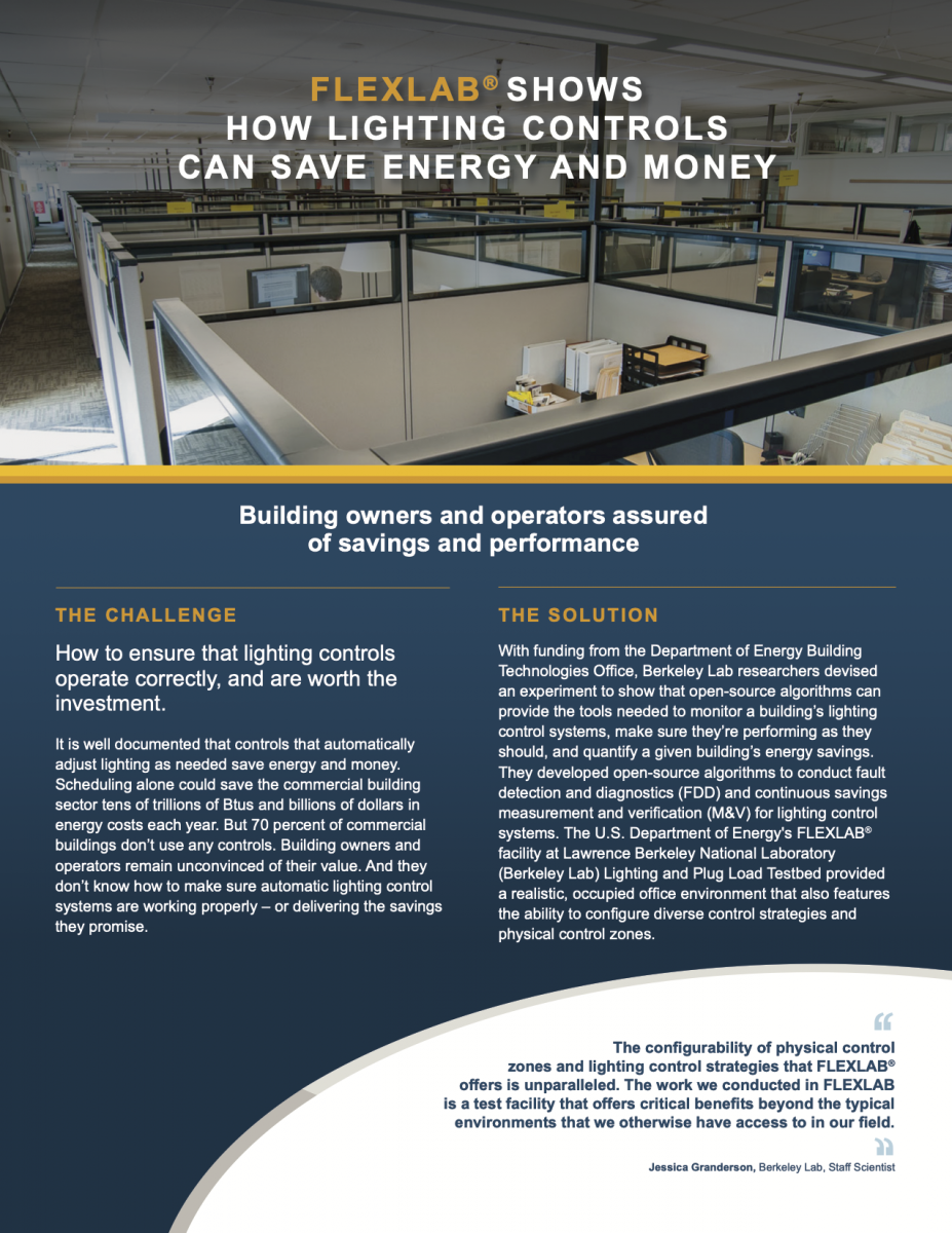 Case Study: How Lighting Controls Can Save Energy and Money